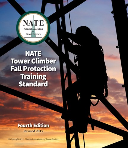 NATE: The Communications Infrastructure Contractors Association | NATE Tower Climber Fall Protection Training Standard