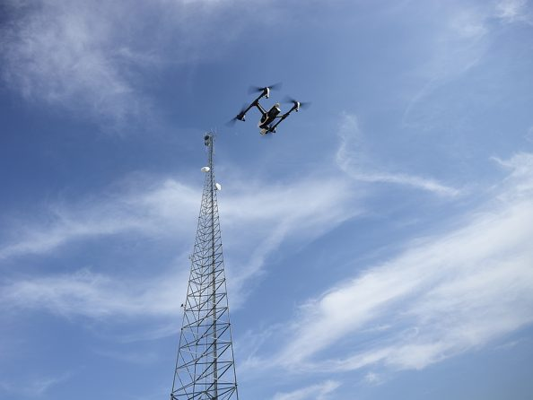 National Association of Tower Erectors (NATE) | UAS Operations - Drone Picture Sentera 3