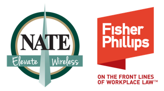 National Association of Tower Erectors (NATE) | Preparing Effective Job Safety Analysis (JSA's) and Pre-Job Meetings - Nate And Fisher Phillips Logo