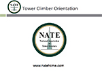 Tower Climber Orientation