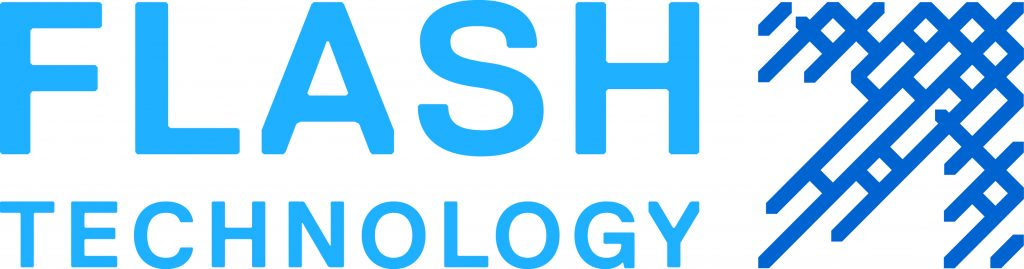 Flashtech Logo Blue New Stack
