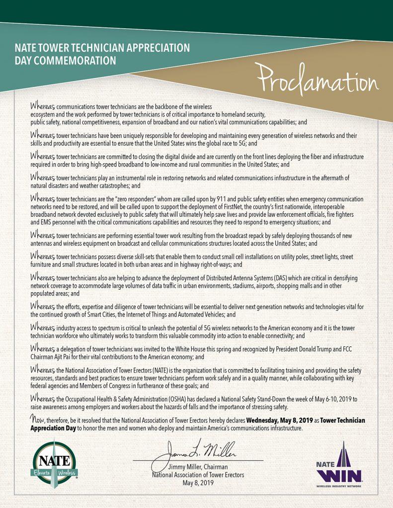 Proclamation 5 8 19 Rev