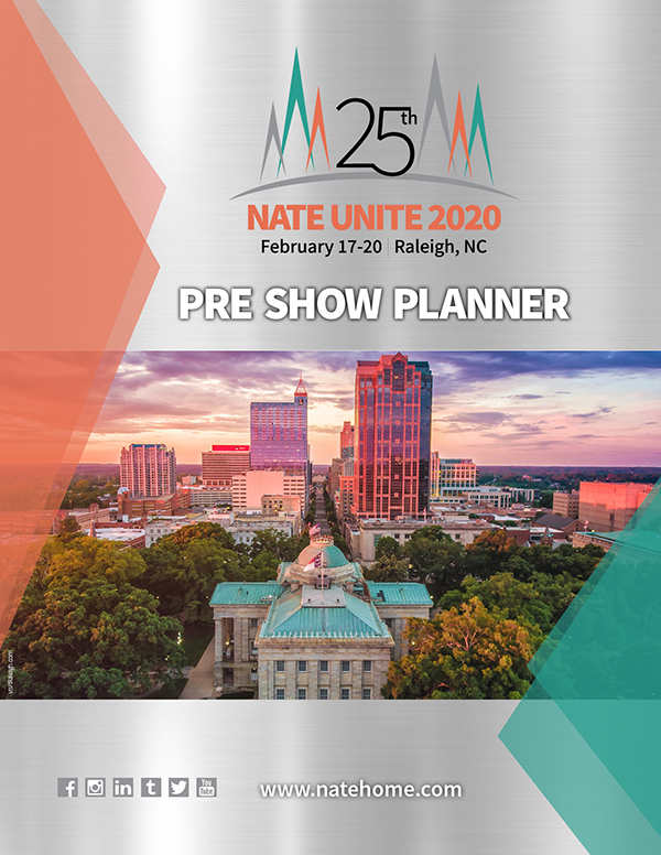 Nu2020 Pre Show Planner Cover