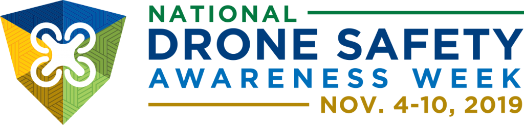 2019 Avs 042 National Drone Safety Awareness Week Visual Identity Horizontal Jk01