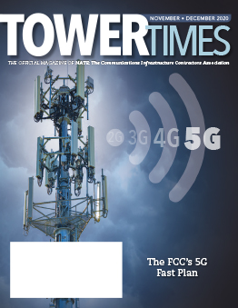 November December 2020 Tower Times Cover 262x339