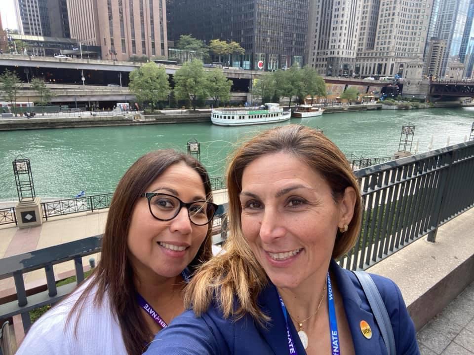 Lesley Liarikos And Leticia Latino Van Splunteren